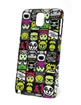 Fonokase Case for Samsung Galaxy Note 3 Cartoon Hard Back + Screen Guard