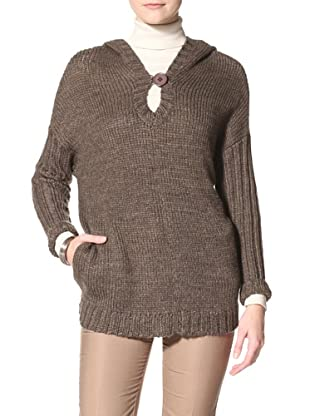Acrobat Women's Hooded Pullover Sweater (Bison)