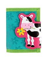 Stephen Joseph Girl Farm Wallet