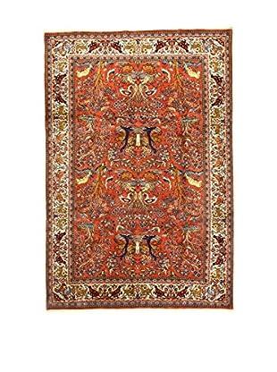 L'Eden del Tappeto Teppich V.Saruk rot/mehrfarbig 292t x t198 cm