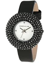 Kenneth Jay Lane Women's 2502S-01 Mother of Pearl Black Hematite Watch