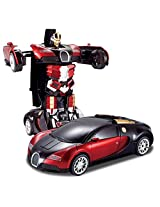 Sunshine Bumble Bee Transformer Robot Remote Control Toy + Converts into a Car + Rechargeable