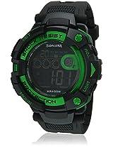 Ocean Series Ii 77010Pp03J Black Digital Watch Sonata