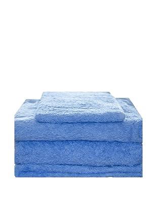 Mesalina Juego de Toallas 4 Piezas (Azul)