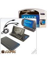 Core Gamer Psp 00757 Psp Flip Stand & 2 In 1 Usb Cradle