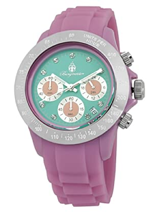 Burgmeister Damen-Armbanduhr Chronograph Quarz Silikon BM514-990B