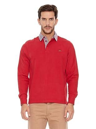 Spagnolo Polo Punto Liso Cosio (Rojo)