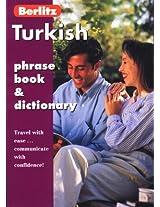 Turkish Phrase Book (Berlitz Phrasebooks)