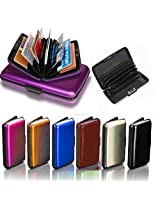 ASCENSION Card Guard Security Credit Card Aluminium aluma wallet purse