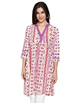 Dhwani Ladies Cotton Printed Kurti