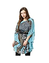 Rose Vanessa Tunic Collor Jungle Blue Dress for Women - Small