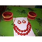Red Traditional Jewellery Set