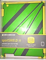 Scosche Sportshield P3 Protective Sport Cover For iPad Green IPD3SPG