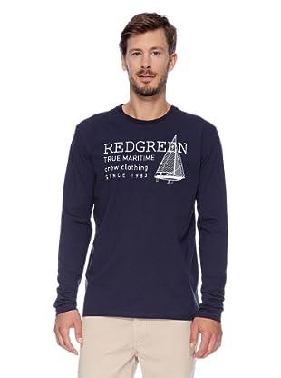 Redgreen Camiseta Central (Azul Marino)
