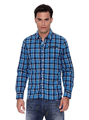 Pepe Jeans London Camisa Edgar (Azul Oscuro / Azul)