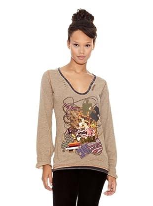 Desigual Camiseta Catman (Duna)