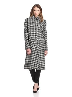 Jil Sander Women's Houndstooth Munich Coat (Multi)