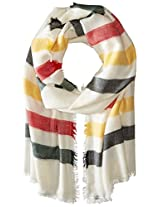 Pendleton Women's National Park Collection Featherweight Striped Wool Scarf, Glacier Park Stripe, One Size