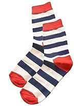 69th Avenue Men's Cotton Socks (Multi-Coloured)