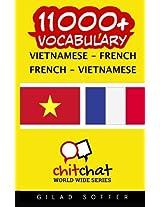 11000+ Vietnamese - French, French - Vietnamese Vocabulary