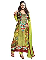 atisundar delicate Green Embroidered Anarkali- 4136_39_316