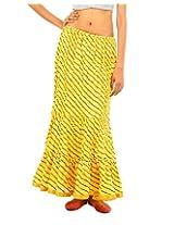 Fashiana Women Cotton Long Stylish Skirt