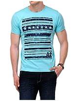 Yepme Men's Green Cotton T-Shirt-YPMTEES0394_M
