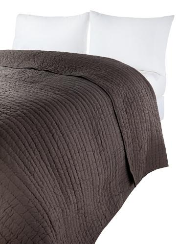 Amity Home Basic Handmade Quilt (Charcoal)