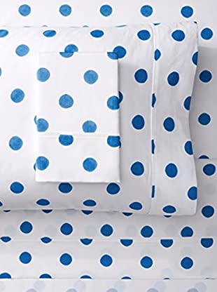 Mélange 400 TC Cotton Watercolor Dots Sheet Set