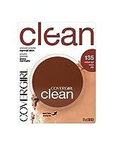 COVERGIRL Clean Pressed Powder Foundation Medium Light .39 fl. oz.