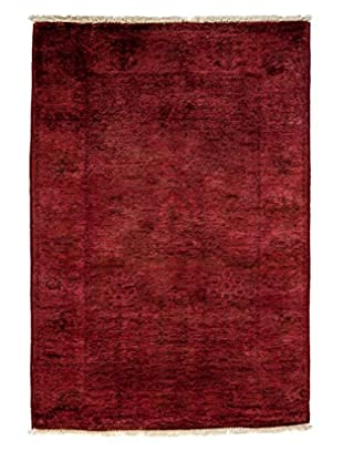 Darya Rugs Transitional Oriental Rug, Red, 4' 7