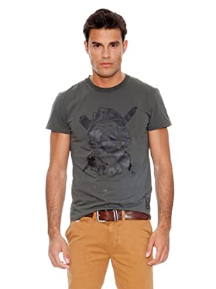Pepe Jeans London Camiseta Wildhearts (Gris)
