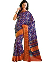 Orbymart Exclusive Designer Raw Silk Multi Colour Printed Saree - 55251466
