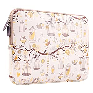 PLEMO Homage to Freedom Neoprene 13.3 Inch Notebook Sleeve Case Bag Cover - Yellow