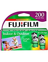 FujiFilm ISO 200 35mm Color Print Film - 24 Exposures, 4 Pack-T37747