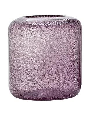 Torre & Tagus Wide Novis Glass Bubble Vase, Purple