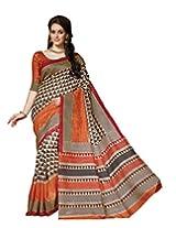 Bhavi Creations Presents Printed Mysore Silk Saree