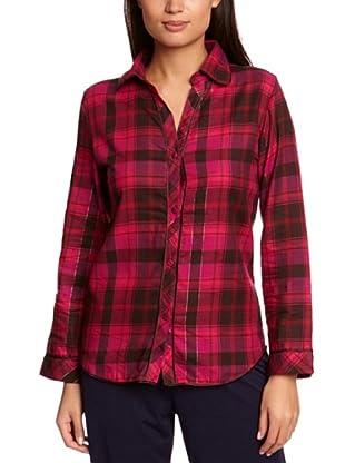 Cyberjammies Camisa De Pijama Balancing Act Checks (Rojo)