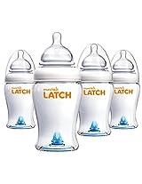 Munchkin 8 Ounce Latch BPA-Free Bottle (4 Count)