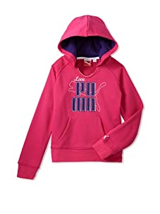 PUMA Girl's 2-6x Love Puma Pullover (Magenta)