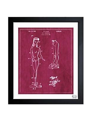 Oliver Gal 'Doll Construction, 1961' Framed Print