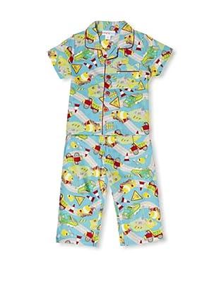 Mini ZZZ Pijama Construction Classic (Azul)