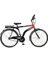 Hero Xcello Integra 26T Single Speed Mountain Bike, Men's (Red/Black)