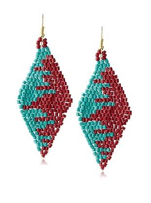 Chloe & Theodora Beaded Kite Earring