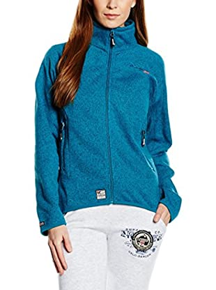 Geographical Norway Giacca in Pile Tenebreuse