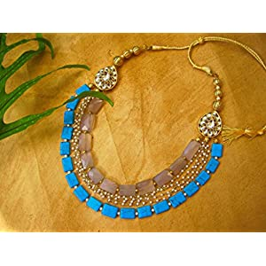 Dreamz Jewels Turquoise Traditional Necklace