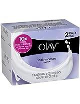 Olay Daily Moisture Quench Beauty Bar Soap - 4 Oz, 2 Ea