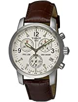 Tissot Brown Leather Chronograph Men Watch T17 1 516 32