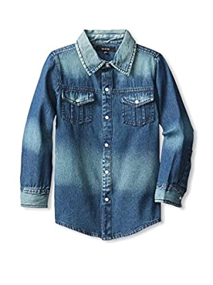 Gil & Jas Kid's Denim Shirt