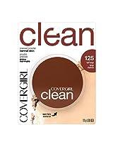 COVERGIRL Clean Pressed Powder Foundation Buff Beige .39 oz.